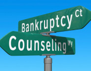 Bankruptcy, counselling, Signs, Crossroads