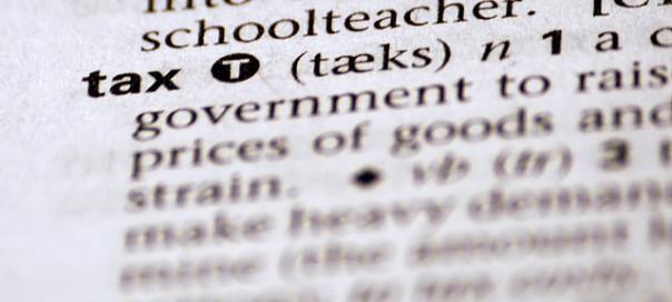 Tax, Tax Help, Dictionary