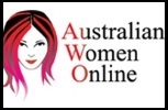 Australian Woman Online with Border